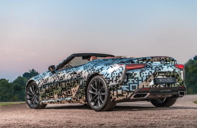 Lexus LC Cabriolet : prête pour la série !