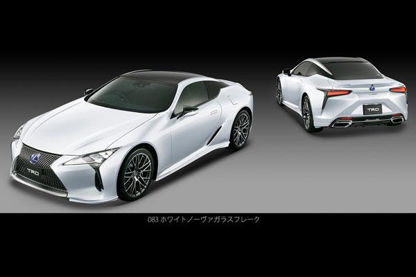 Un kit TRD pour la Lexus LC