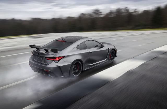 La Lexus RC F Track Edition sera à Genève