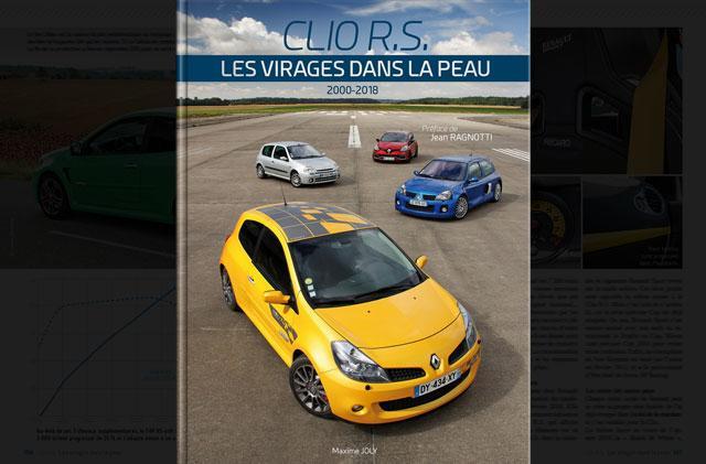 Livre Clio RS Les virages dans la peau