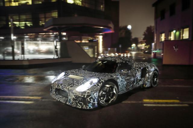 Maserati prépare un nouveau modèle avec une motorisation interne