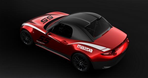 Un hartop pour la Mazda MX-5 Roadster... Cup