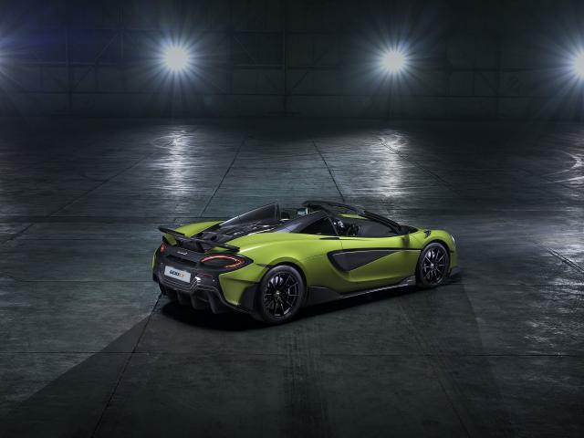 McLaren 600LT Spider : le meilleur des mondes