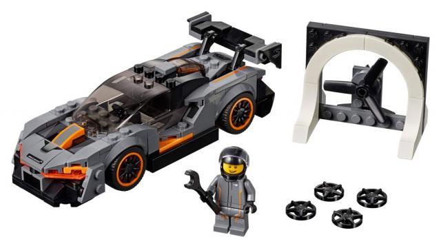 La McLaren Senna int�gre la collection LEGO Speed Champions