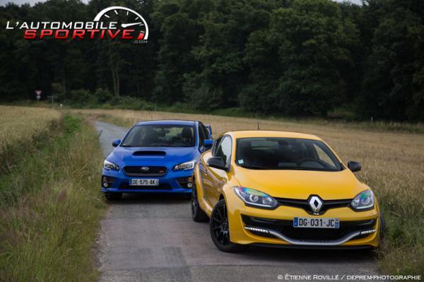 Comparatif : Megane RS 275 vs Subaru WRX STI