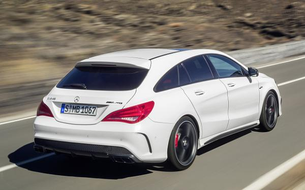 mercedes cla 45 amg shooting brake. Black Bedroom Furniture Sets. Home Design Ideas