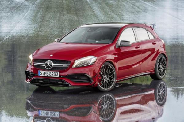 381 ch pour la Mercedes A45 AMG restyl�e !