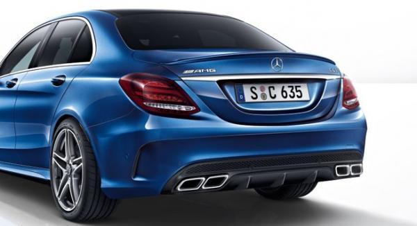 Photo : la nouvelle Mercedes C63 AMG