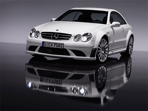 Mercedes-Benz CLK63 AMG Black Series, happy birthday AMG !