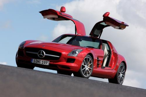 mercedes sls amg les portes du paradis. Black Bedroom Furniture Sets. Home Design Ideas