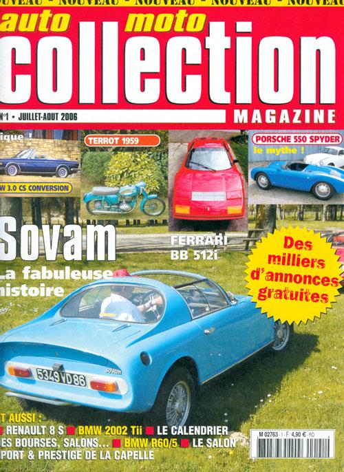 nouveau titre en kiosque auto moto collection magazine. Black Bedroom Furniture Sets. Home Design Ideas