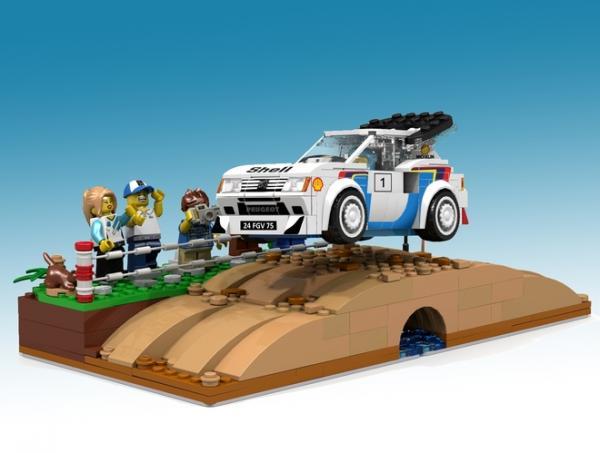 La Peugeot 205 T16 en Lego ? Soutenez le projet !