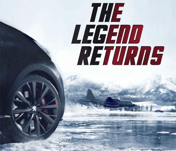 Peugeot 208 GTI 30th : teaser video