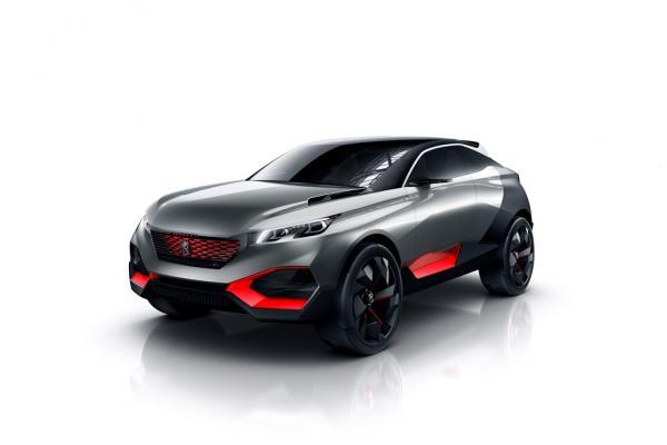 Concept car : Peugeot Quartz, le futur avec du muscle !