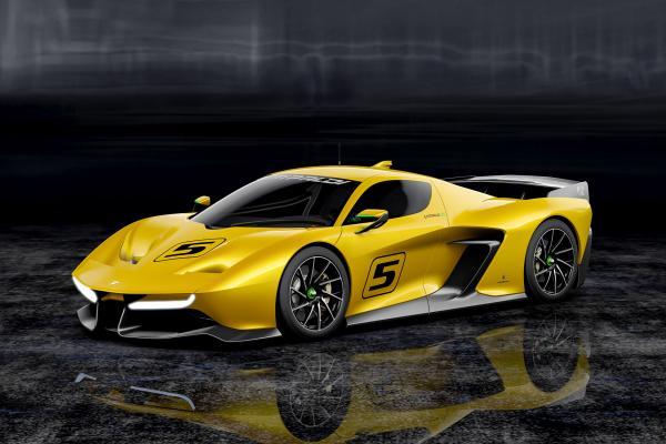 Fittipaldi EF7 Vision GT by Pininfarina