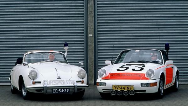 Les Porsche de la police néerlandaise