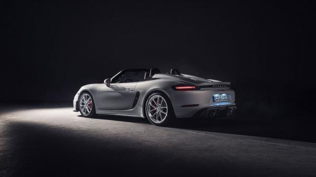 Porsche 718 Spyder : le roadster sublimé