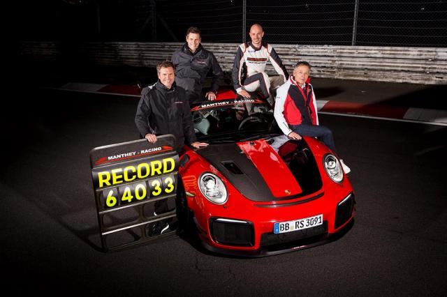 Nouveau record au Nürburgring pour la Porsche 911 GT2 RS