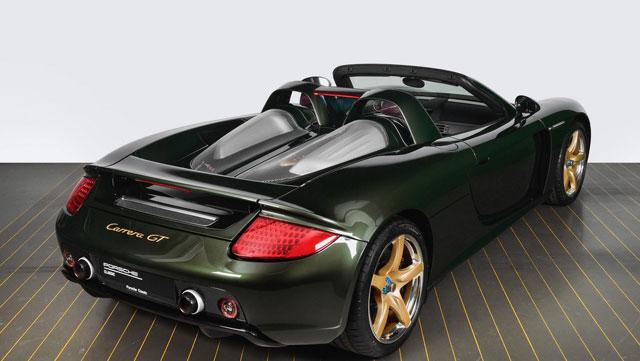 Une Carrera GT reconstruite à neuf par Porsche Classic