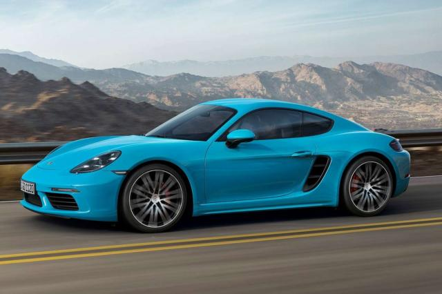 Une version T pour la Porsche 718 Cayman ?