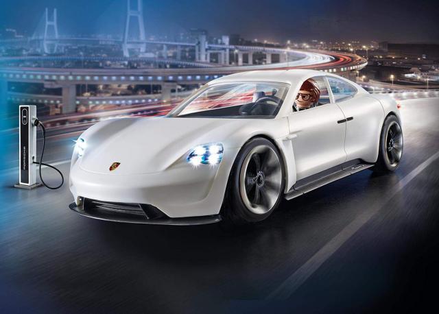 Playmobil The Movie : la Porsche Mission E de Rex Dasher arrive en magasin