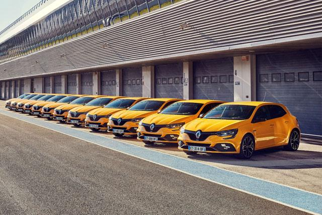 Interview Renault Sport Cars : Megane 4 RS