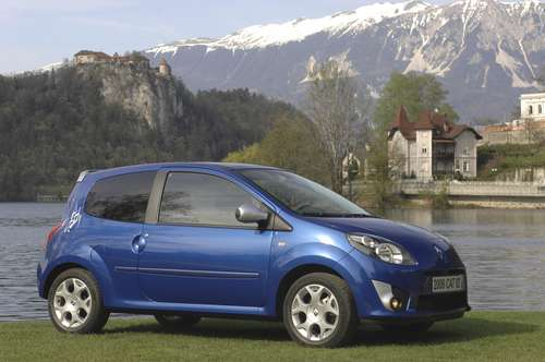 twingo gt tce 100 ch lue petite voiture de l 39 ann e 2008 au portugal. Black Bedroom Furniture Sets. Home Design Ideas