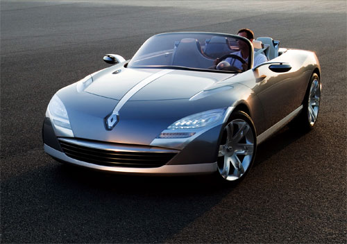 renault nepta cabriolet 4 places en concept car. Black Bedroom Furniture Sets. Home Design Ideas
