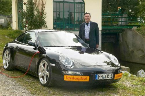RUF devance Porsche avec son projet de 911 �lectrique