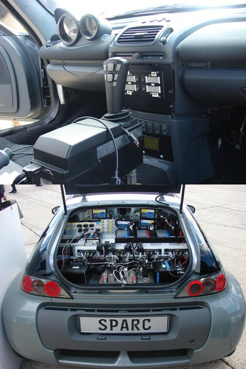 la voiture sans volant pour bient t un roadster smart est mis au banc d 39 essai. Black Bedroom Furniture Sets. Home Design Ideas