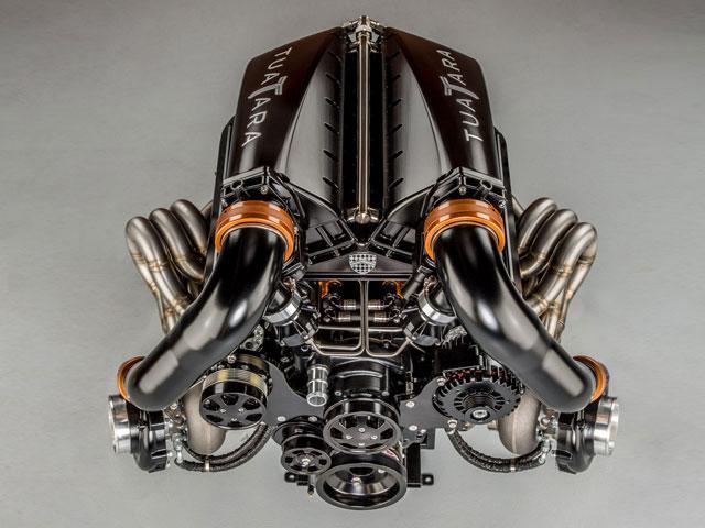 SSC dévoile le nouveau V8 biturbo de la Tuatara