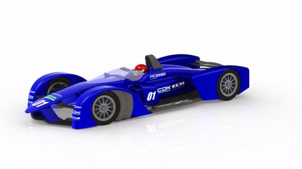 TEOS propose un nouveau ch�ssis pour la Formule E