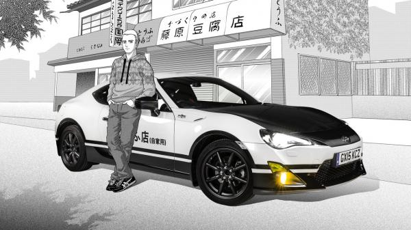 Toyota GT 86 Initial D concept