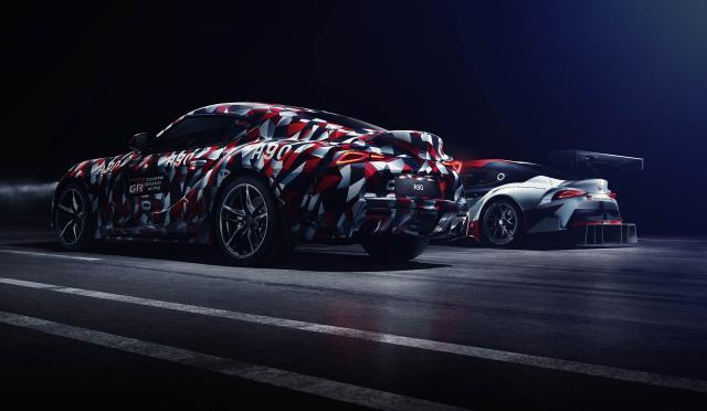 La nouvelle Toyota Supra en live à Goodwood