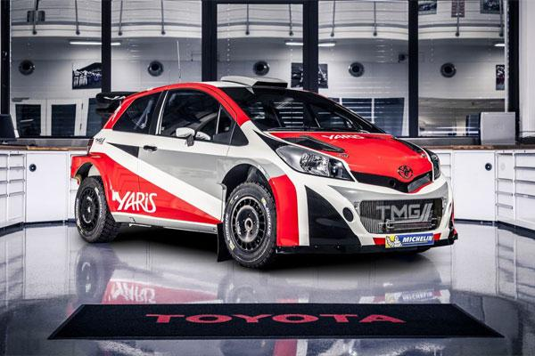toyota de retour en wrc en 2017. Black Bedroom Furniture Sets. Home Design Ideas