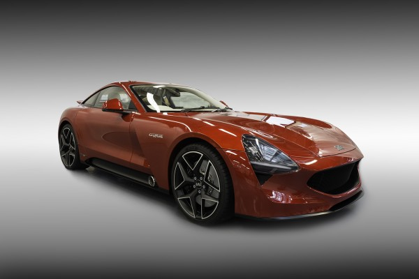 TVR Griffith : it's back !
