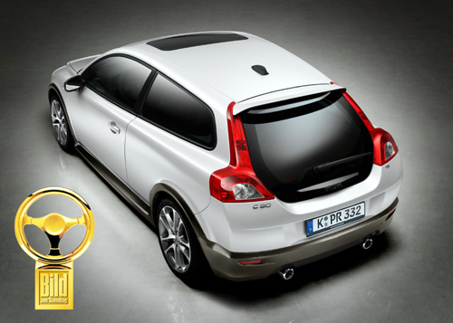 la volvo c30 remporte le volant d or allemand. Black Bedroom Furniture Sets. Home Design Ideas