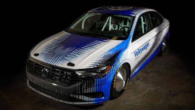 Une Volkswagen Jetta GLI pour un record à Bonneville