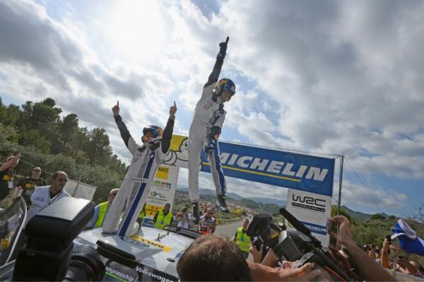 S�bastien Ogier s'offre un deuxi�me titre en WRC