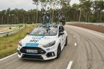 La Ford Focus RS sur le Tour de France