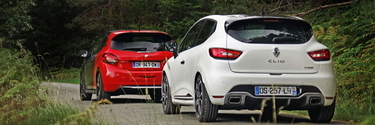 match   peugeot 208 gti bps vs renault clio 4 rs trophy