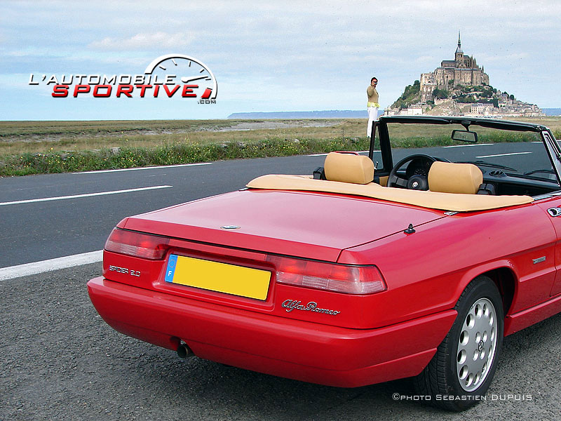 photo alfa romeo spider 1990 alfa spider 1990 05. Black Bedroom Furniture Sets. Home Design Ideas