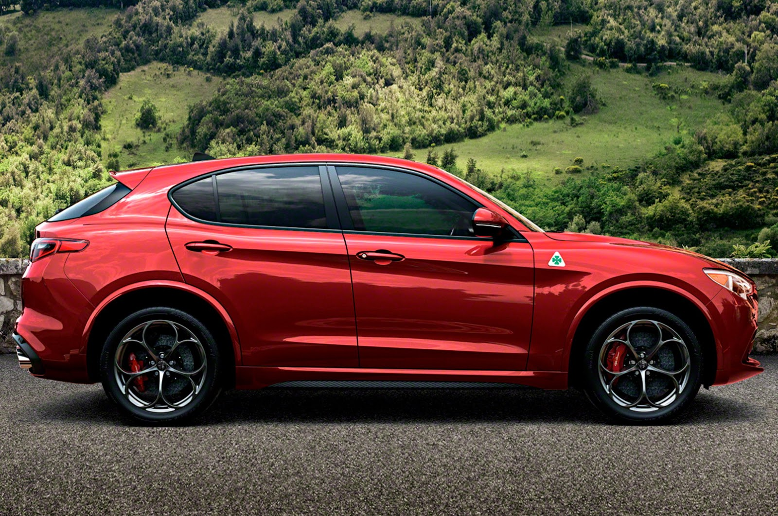 photo alfa romeo stelvio quadrifoglio alfa romeo stelvio 02. Black Bedroom Furniture Sets. Home Design Ideas