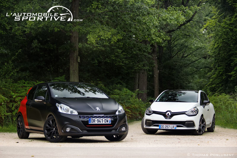 photo comparatif 208 gti ps clio rs trophy 208gtips cliorstrophy 03. Black Bedroom Furniture Sets. Home Design Ideas