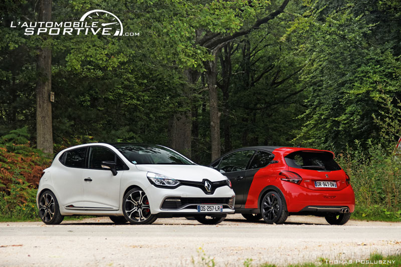 photo comparatif 208 gti ps clio rs trophy 208gtips cliorstrophy 06. Black Bedroom Furniture Sets. Home Design Ideas