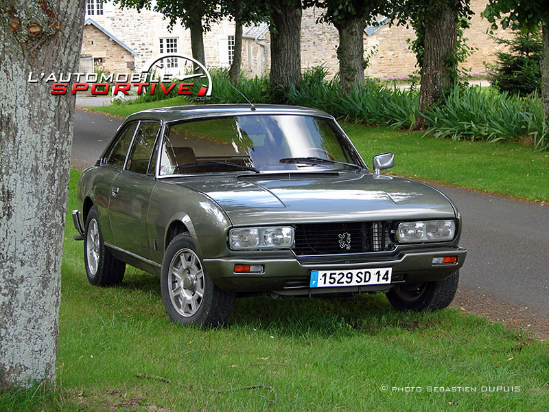 photo peugeot 504 coupe 504 coupe v6ti 05. Black Bedroom Furniture Sets. Home Design Ideas