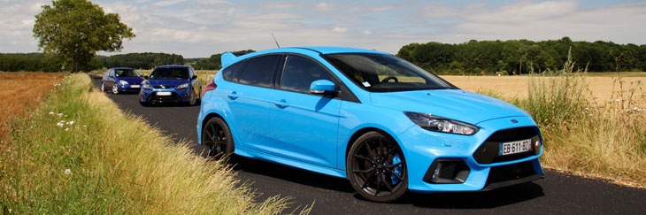 reportage comparatif ford focus rs mki mkii mkiii. Black Bedroom Furniture Sets. Home Design Ideas