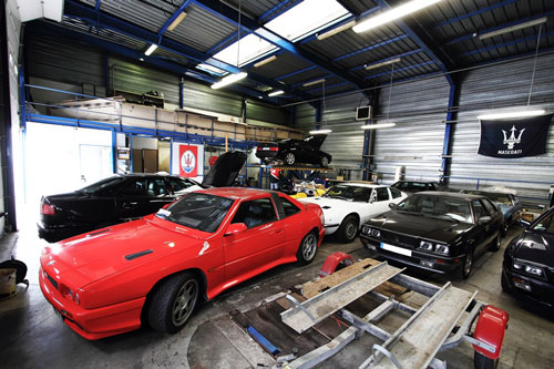 Garage du trident un sp cialiste maserati en r gion for Comparateur garage voiture