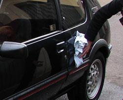 carrosserie nettoyer et r nover la peinture et les plastiques de sa voiture detailing. Black Bedroom Furniture Sets. Home Design Ideas
