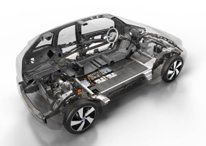 bmw i3 cellule carbone